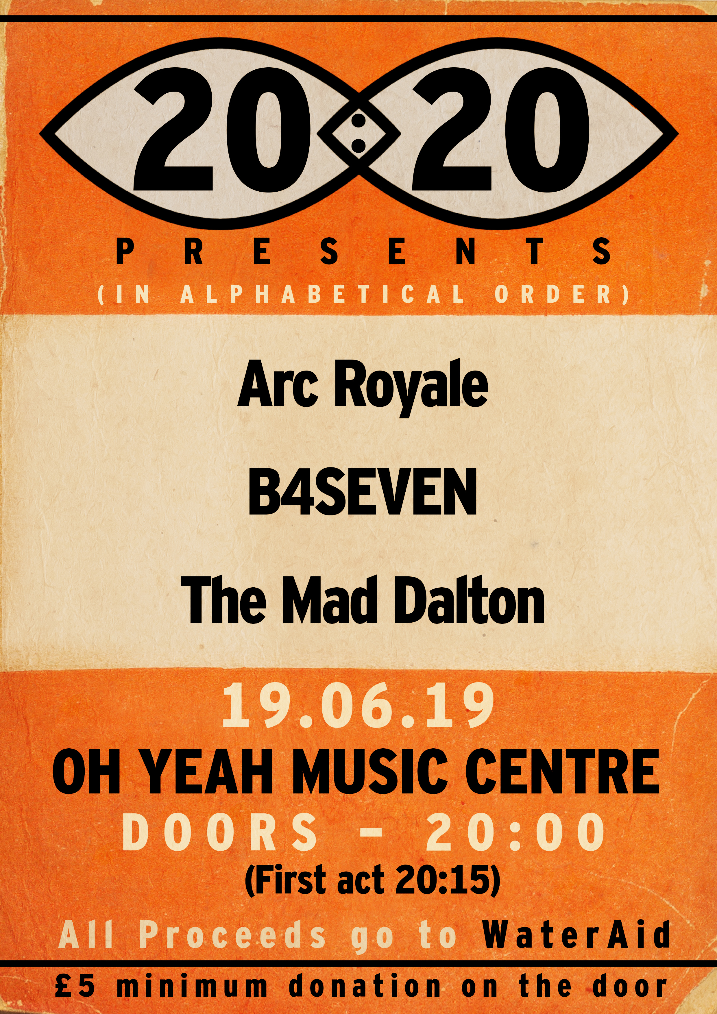 Best Songwriters 2020 20:20 #011 // Arc Royale // B4SEVEN // The Mad Dalton – Oh Yeah
